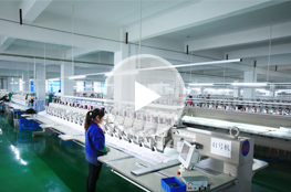 MH embroidery lace factory