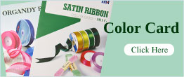 Ribbon color card