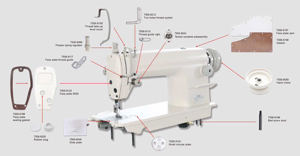 Supply Great Sewing Machine Spare Parts Online with Good Quality