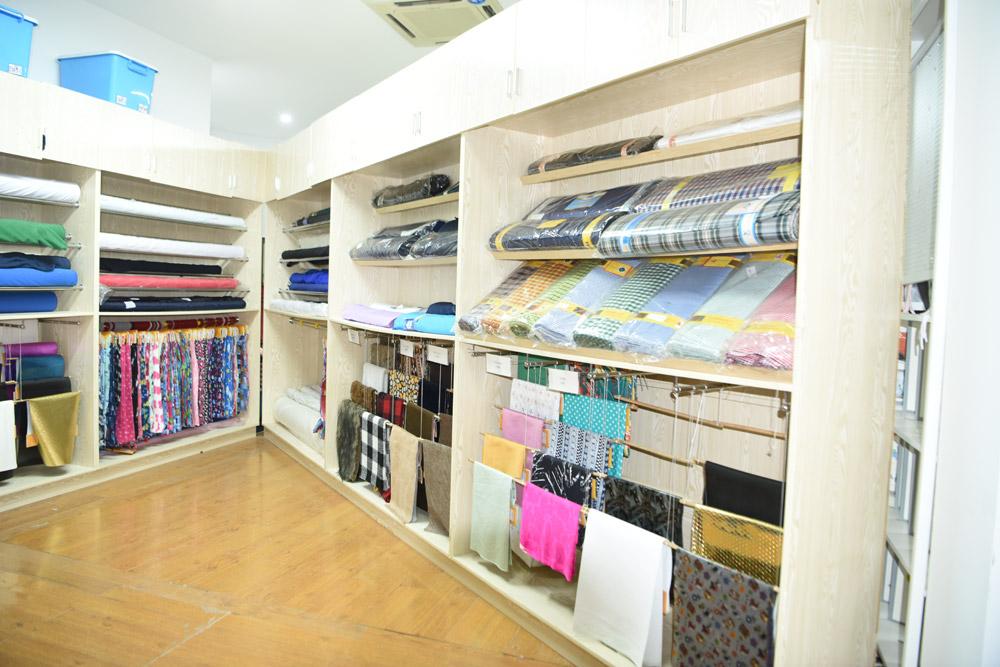 kumaş showroom