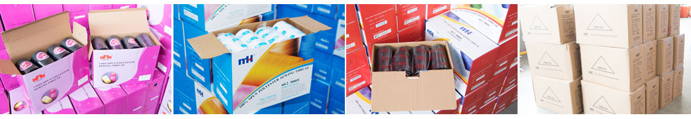 polyester sewing threads Packing
