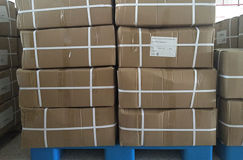 plastic zipper chain carton packing