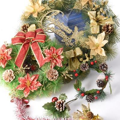 giáng sinh-vòng hoa và cành