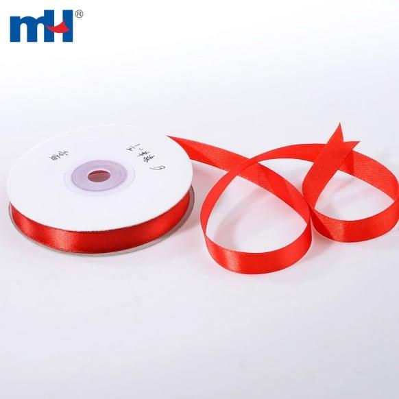 Polyester Satin Ribbon Single Faced