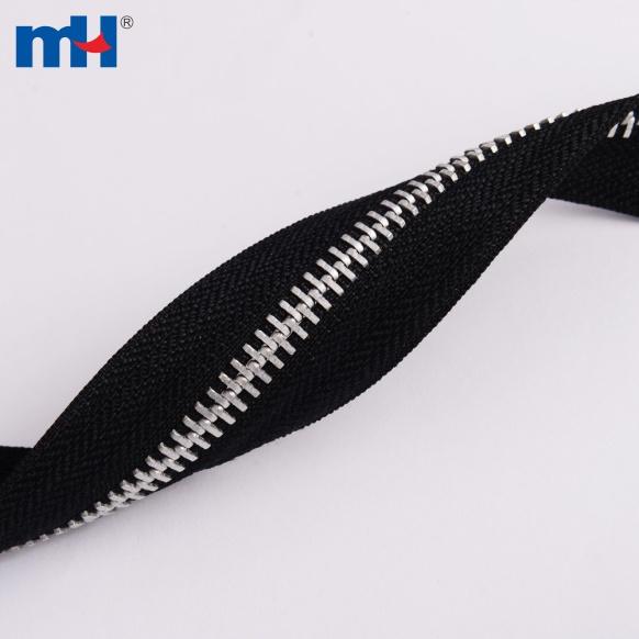 #5 Aluminum Zipper Chain