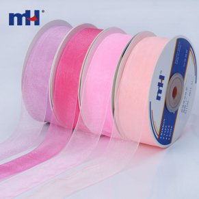25mm sheer ribbon