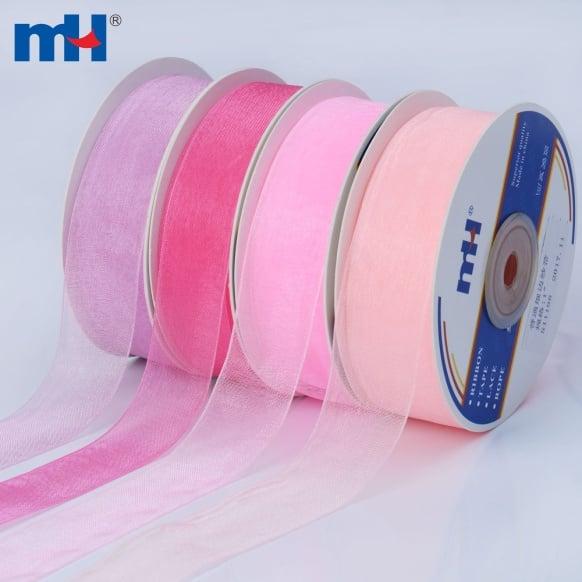 25mm sheer ribbon