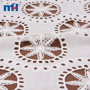 tecido de ilhós de algodão