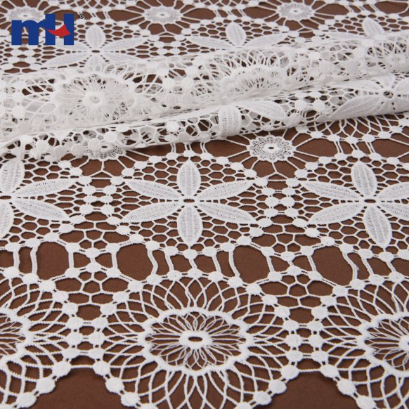 allover chemical lace fabric