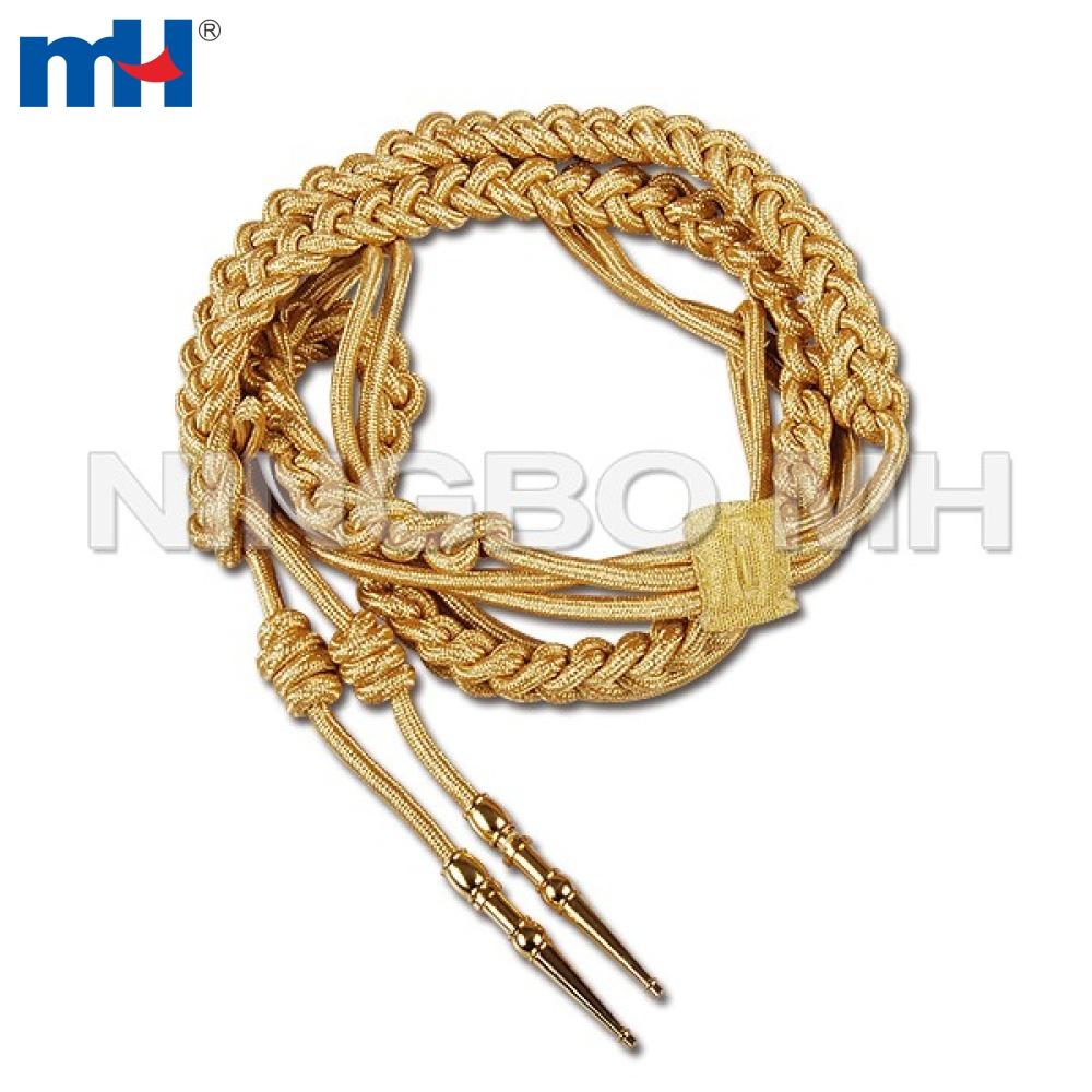 золотой шнурок из нержавеющей стали