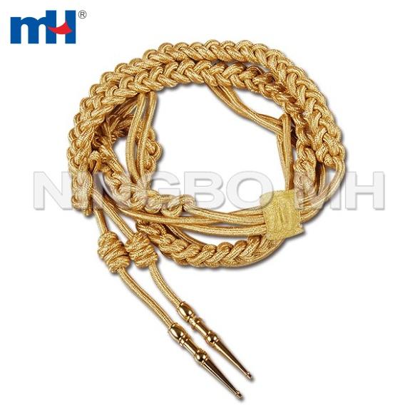 cordón de oro aiguillette hombro