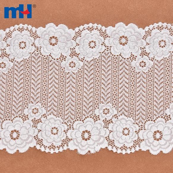 Adorno de encaje de nailon con varios patrones