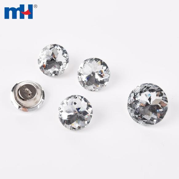 Botón de cristal para sofá 25mm (2)