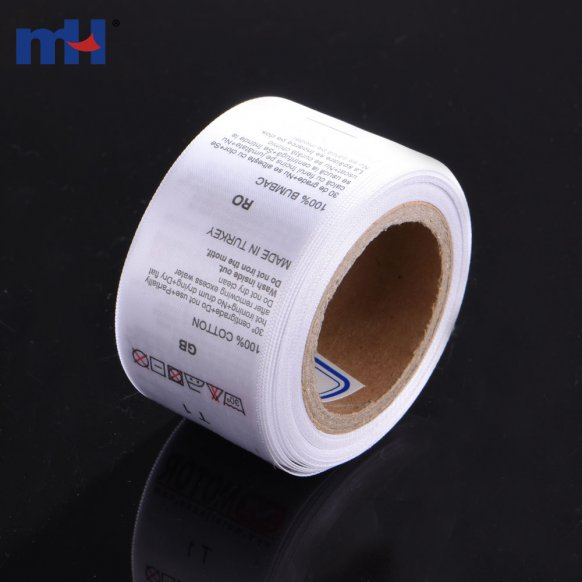 nylon printed label
