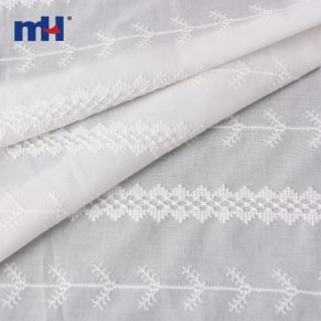 striped cotton lace