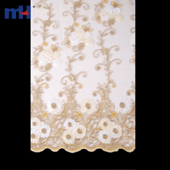 Wedding Lace Fabric LAX-S20422