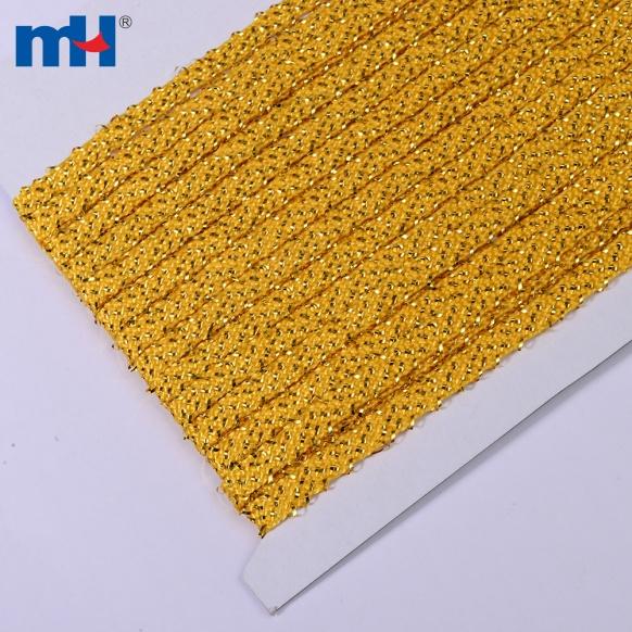 metallic gold rope