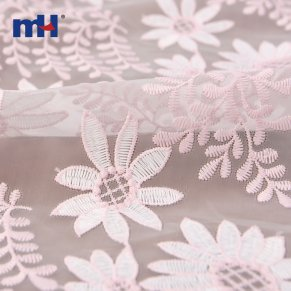 embroidered organza lace