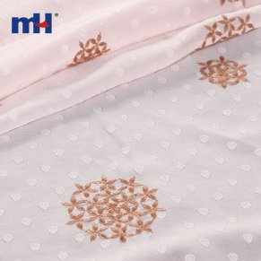 embroidered chiffon fabric