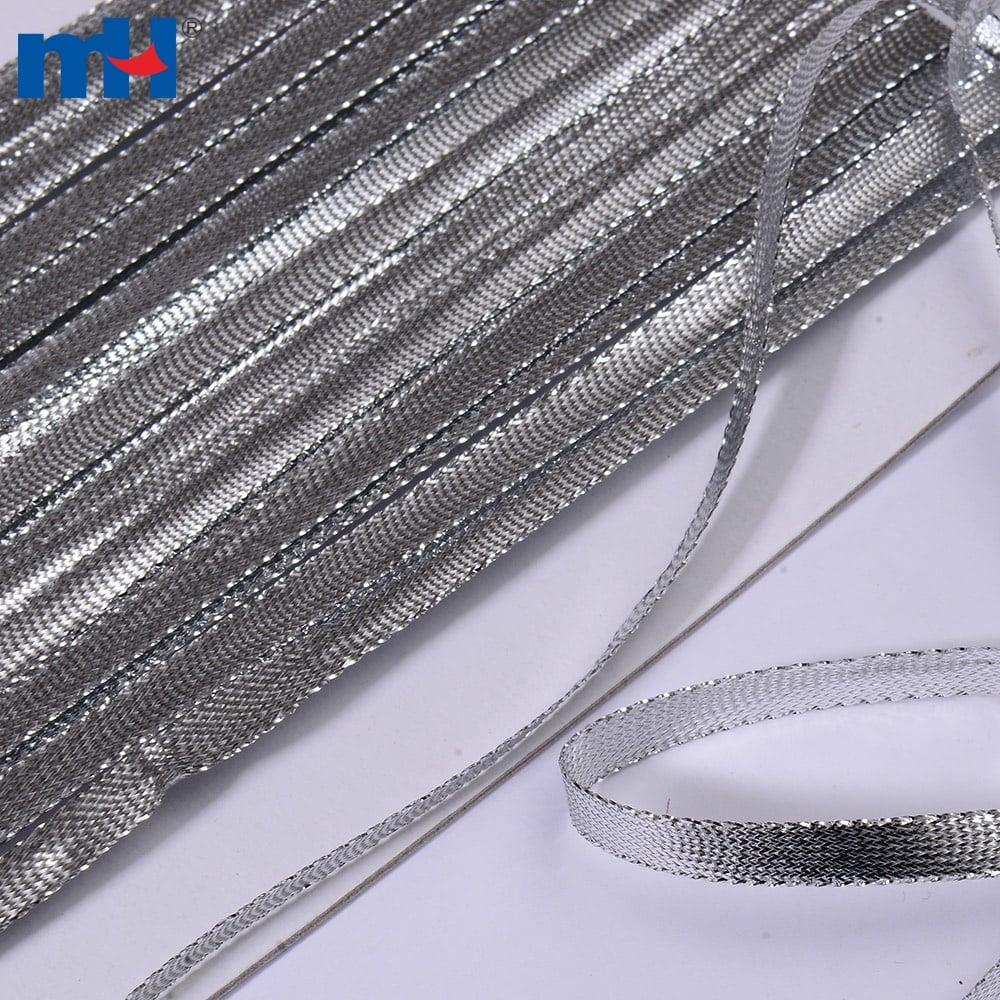 cuerda plana de plata