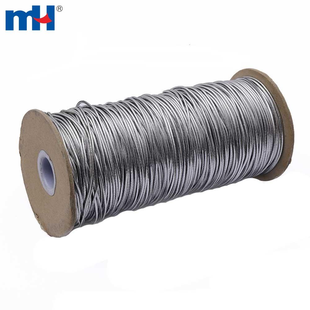 6201-1003 cavo elastico argento metallico