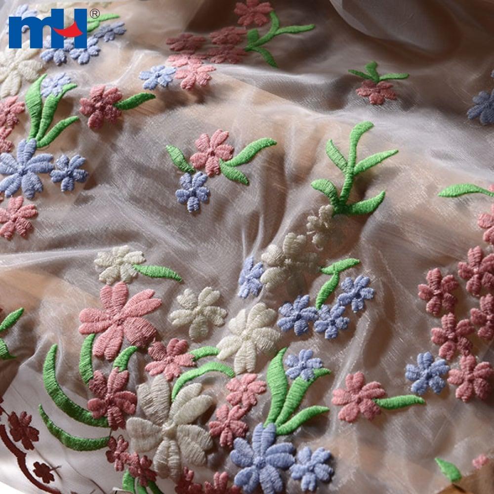 الأورجانزا الدانتيل النسيج شنومكسنومكس-شنومكس