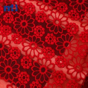 Organza Lace Fabric W002068C