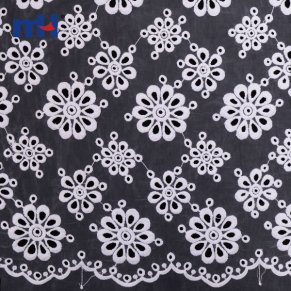 Organza Lace Fabric W002175B