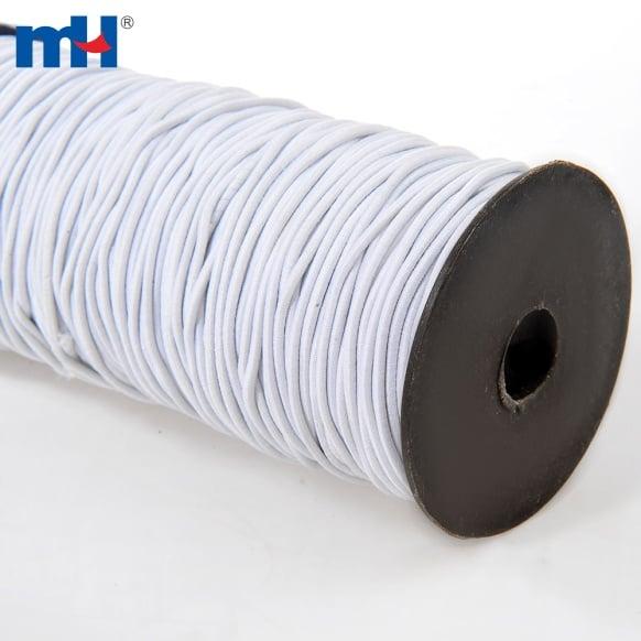 0370-1200 white elastic cord