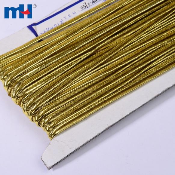 metallic gold soutache braid cor