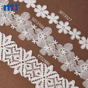 floral lace trim