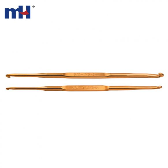 Golden Double Crochet Hooks 0333-6201