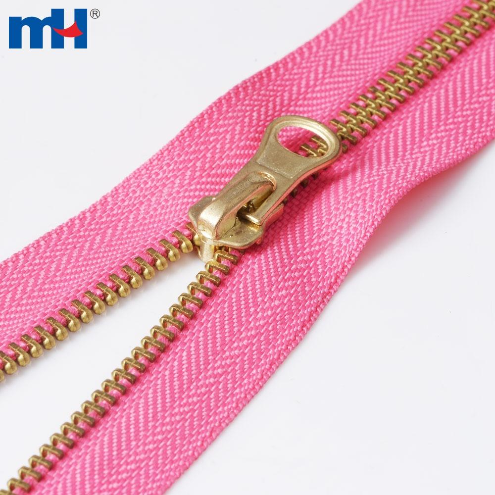 0251-3-1 #5 brass zipper