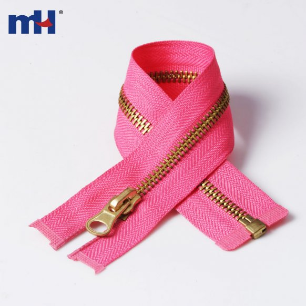 0251-3 #5 brass zipper