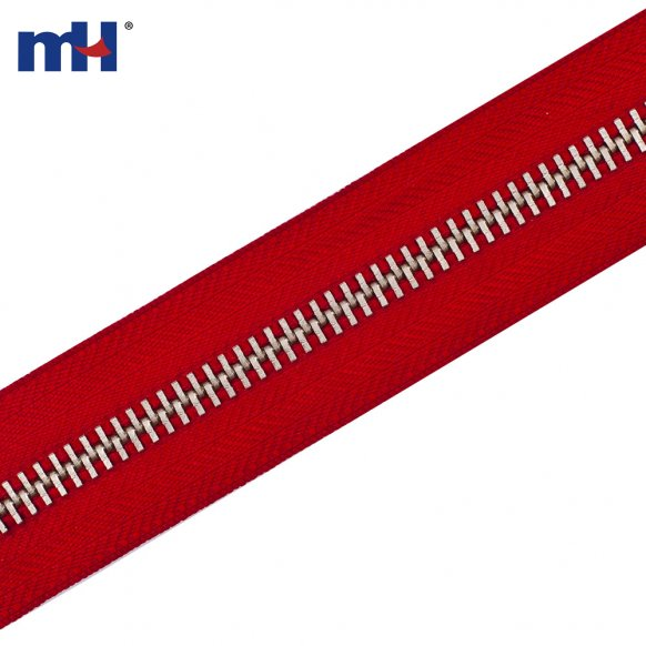 #10 heavy duty metal zipper chain