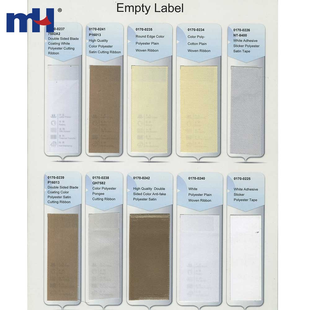 Custom Blank Nylon Clothing Care Labels for Sale - MH