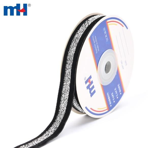 cinta de terciopelo negro