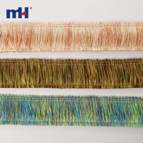rainbow fringe trim
