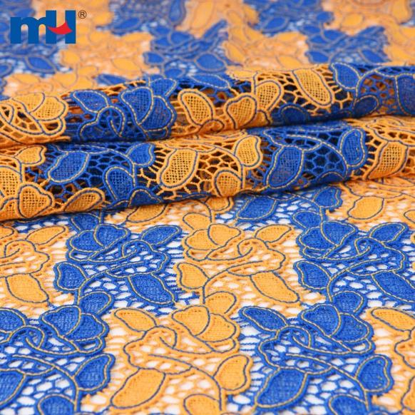 laço bordado colorido