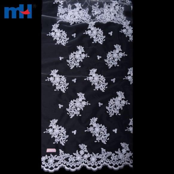 Organza dentelle tissu 0619-0116