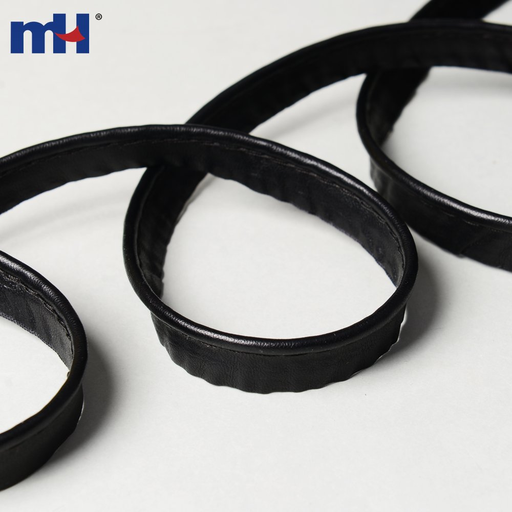 12mm Faux Leather Bias Binding Piping Cord For Sale