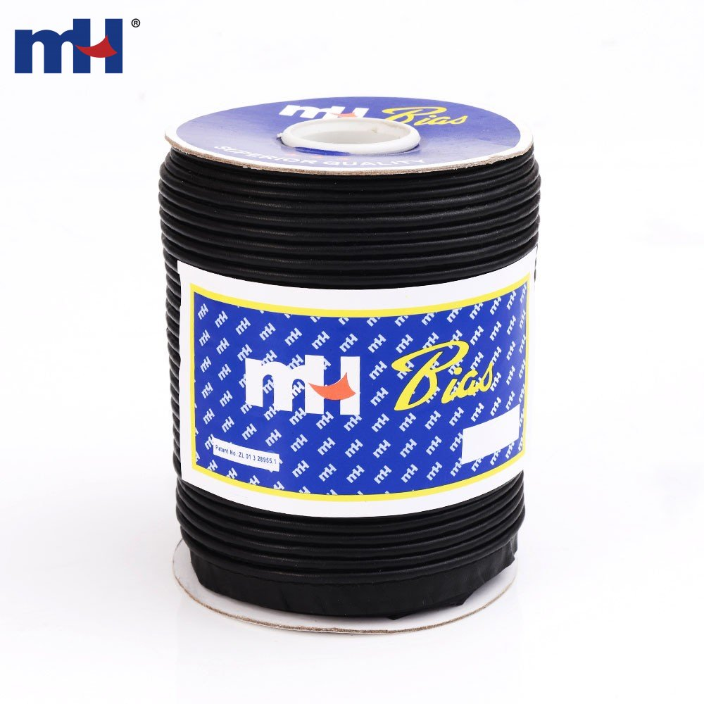 12mm Faux Leather Bias Binding Flanged Piping Cord