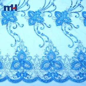 Sequins Lace Fabric 0610-0014
