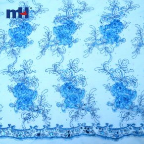 Sequins Lace Fabric 0610-0015