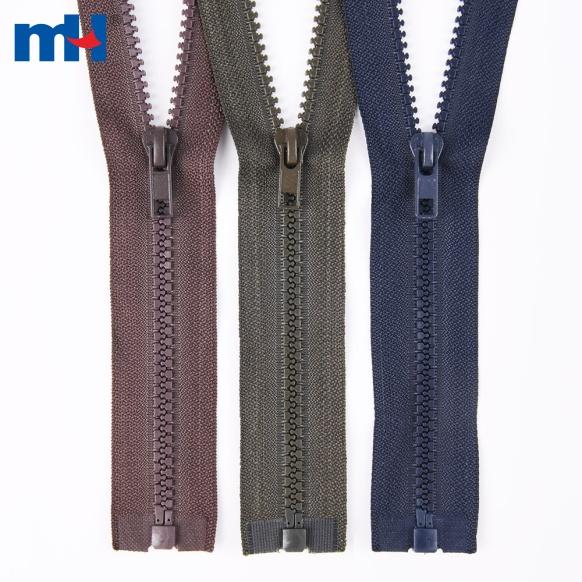 #5 plastic zipper for jackets