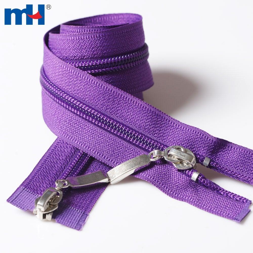 0222-2002 #5 2 way separating zippers