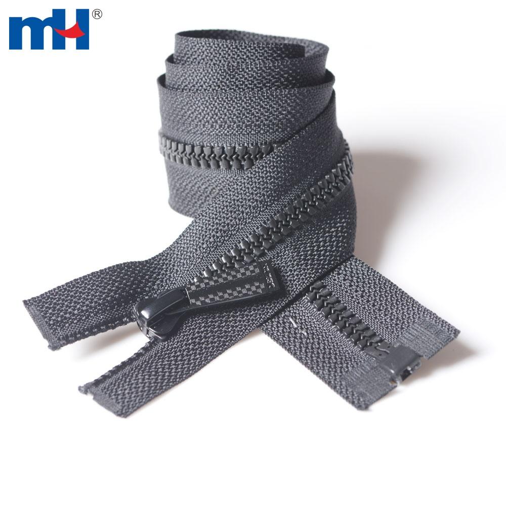 0231-241 #5 open end plastic zipper