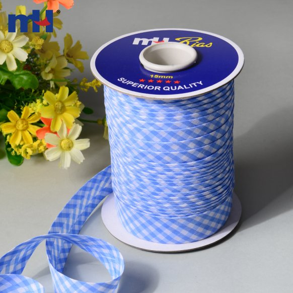 0041-2501 gingham bias tape