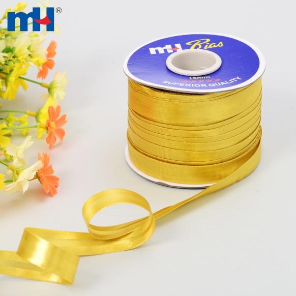 0030-1500g metallic gold bias tape