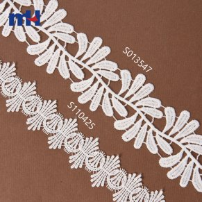 guipure lace trim